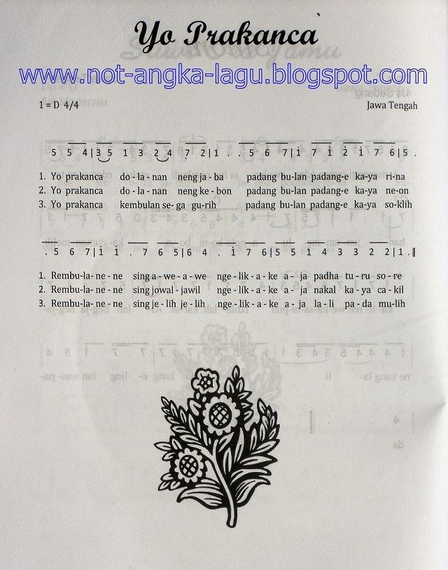 Not Angka Pianika Lagu Padamu Negeri 1001 Kumpulan Notasi Lagu Paling Lengkap Not Angka Lagu Not Angka Lagu Yo Prakancaprokonco