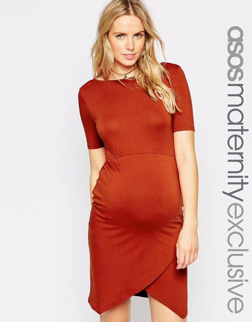 Vestido moderno para embarazada