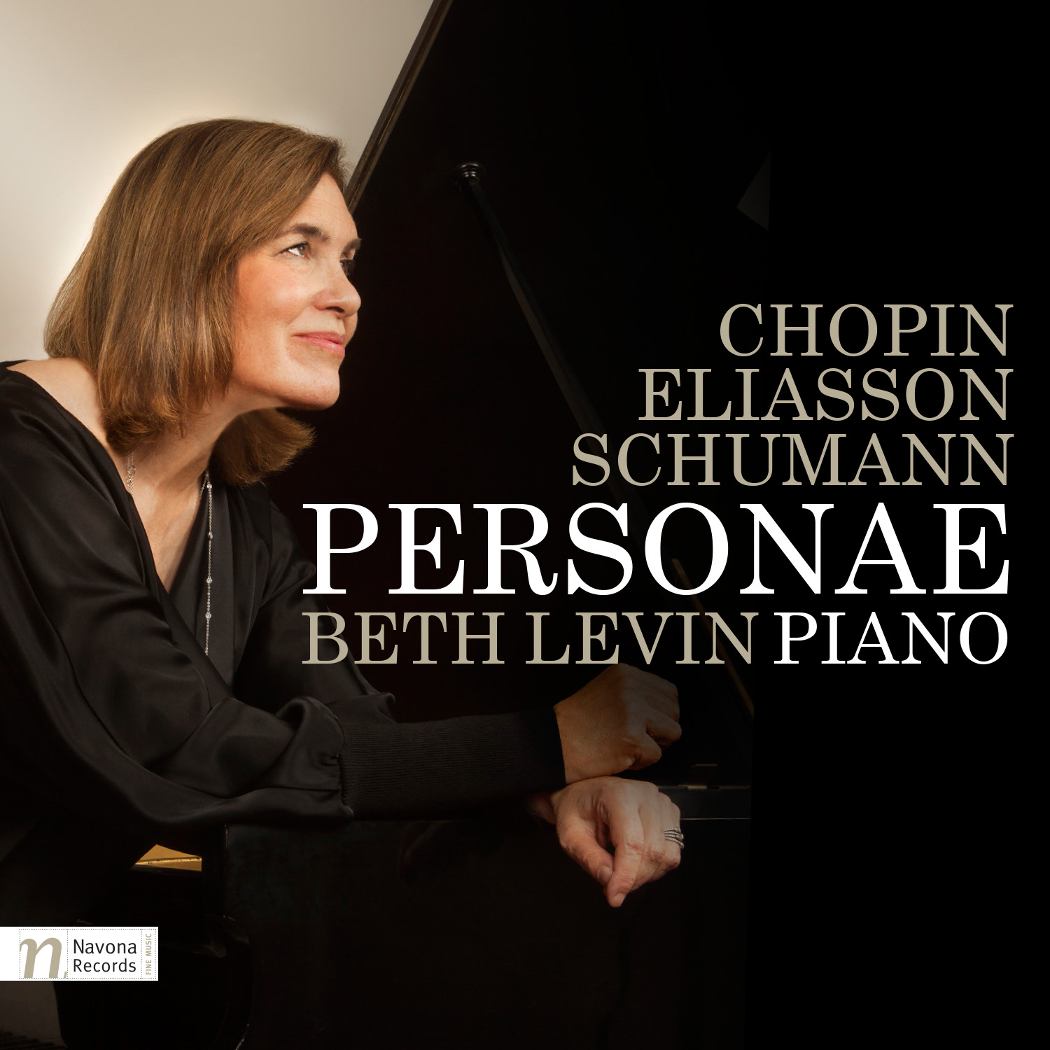 IN REVIEW: F. Chopin, R. Schumann, & A. Eliasson - PERSONAE (Beth Levin, piano; Navona Records NV6016)