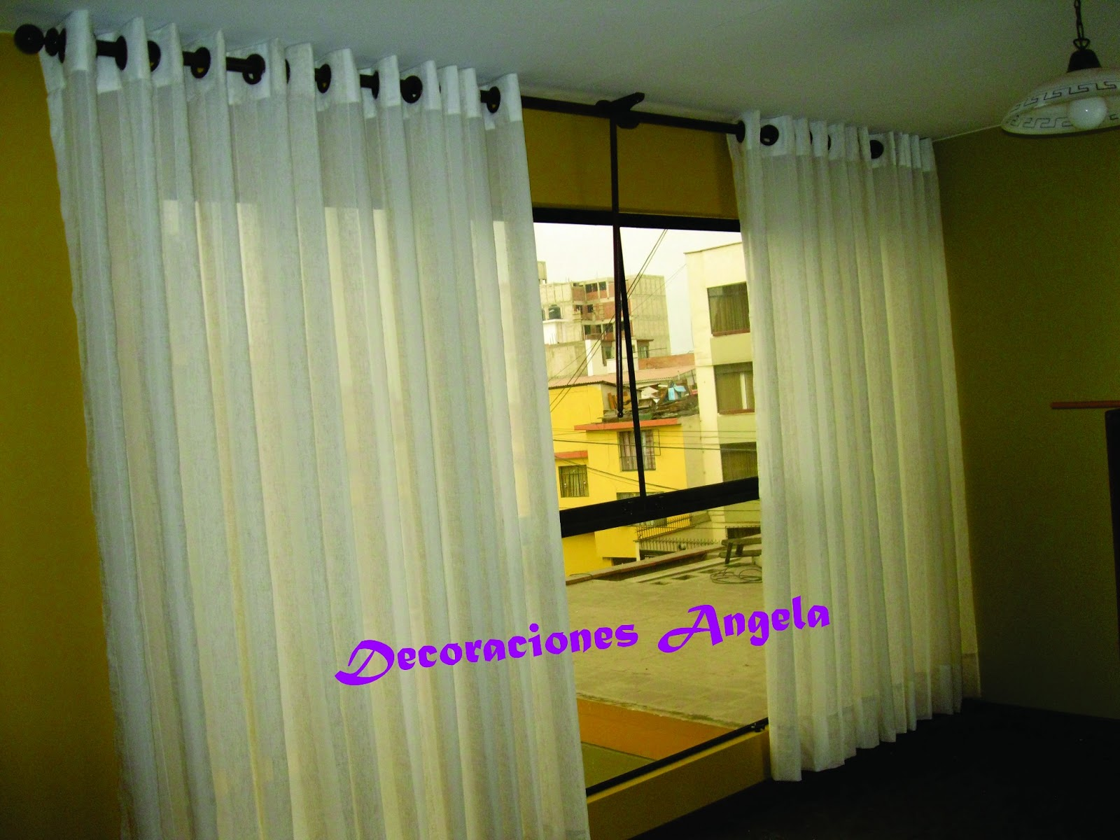 Cortina Decoracion Decoraciones Angela Cortinas Rollers Peru Persianas Peru
