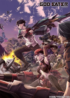 Poster Anime God Eater (Summer 2015) - First Impression Review by Glen Tripollo