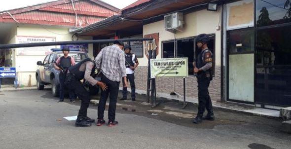 Fotot Perketat Pengamanan, Polres Mamuju Antisipasi Teror