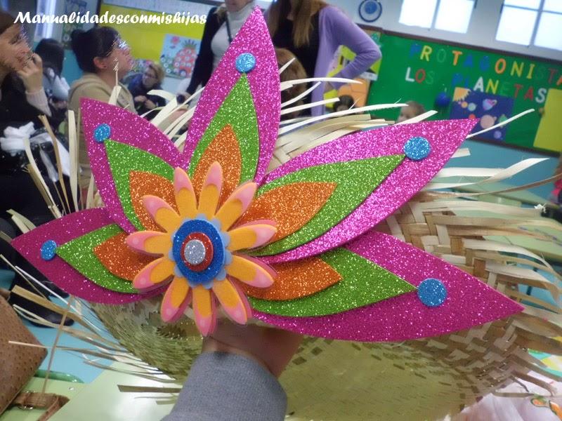 Manualidades con mis hijas En Carnaval de jardineros