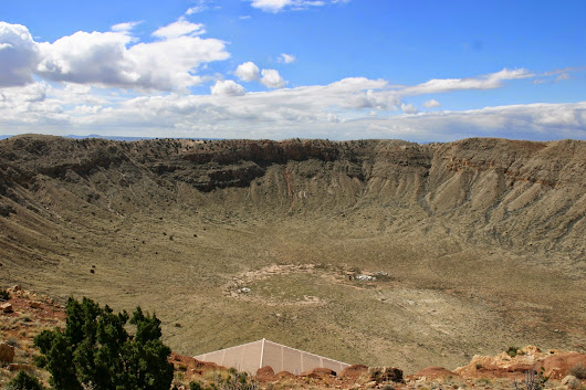 Retirement Dreams: Meteor Crater and Standing on the Corner in Winslow Arizona