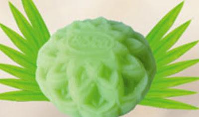 Bánh trung thu Bibica - Đậu xanh lá dứa 0 trứng 180g