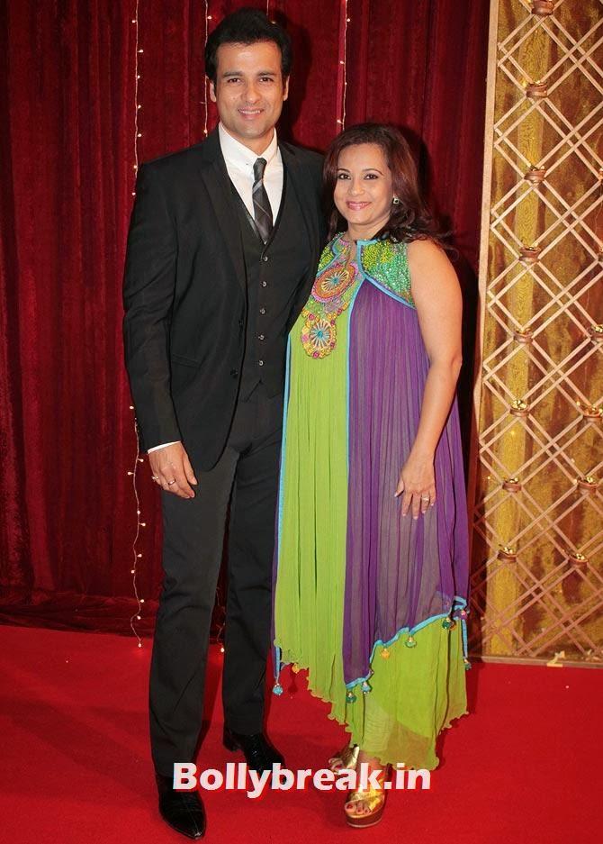 Rohit Roy, Mansi Joshi on Indian Tele Awards 2013 Red carpet, Indian Tele Awards 2013 red Carpet Pictures - ITA - Lauren Gottlieb, Mouni Roy, Ratan Rajput