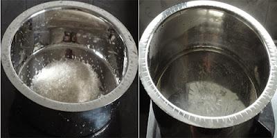 boiling sugar syrup