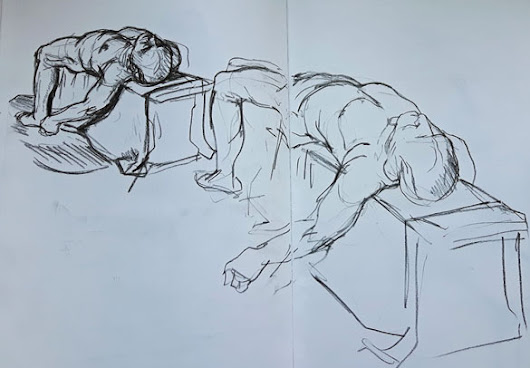 Life Drawing Session 4