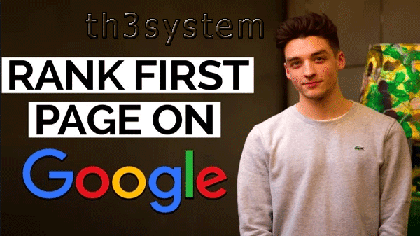 Rank Your Website On Google's First Page | SEO (Search Engine Optimization)