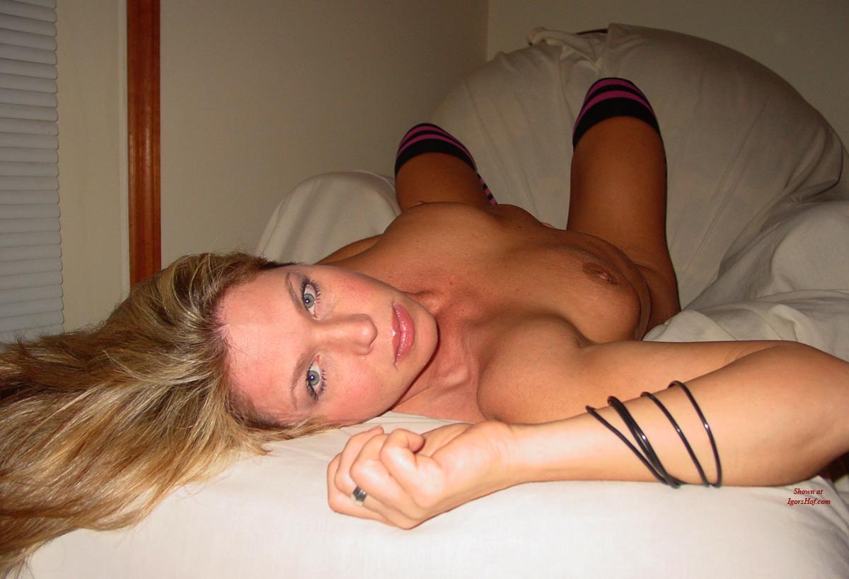 Shy geek blonde girlfriend from canada fingers petite pussy - 3 part 1