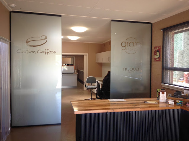 Grata Espresso Glass Panels
