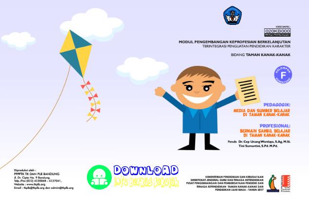 Modul SIM PKB Kompetensi F PAUD TK Tahun 2017 [PDF]