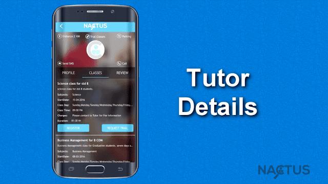 tutor details
