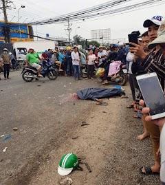Chuyến xe định mệnh của tài xế GrabBike trước khi thiệt mạng dưới bánh container ở Long An