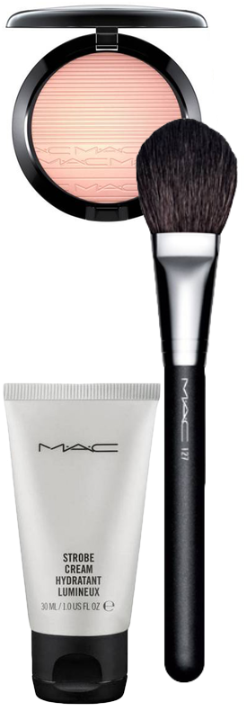 M·A·C Glow Kit (Skinfinish, Brush, and Go Strobe Cream)