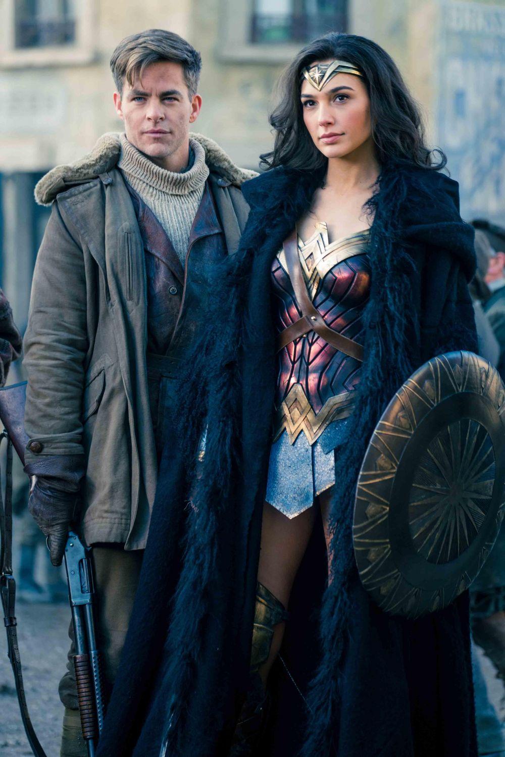 Wonder Woman 2017, Israeli actress Gal Gadot plays Princess Diana