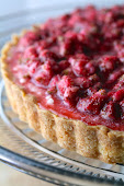 Alpine Strawberry Mascarpone Tart