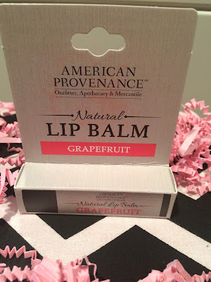 natural lip balm in grapefruit flavor from ecocentric mom box