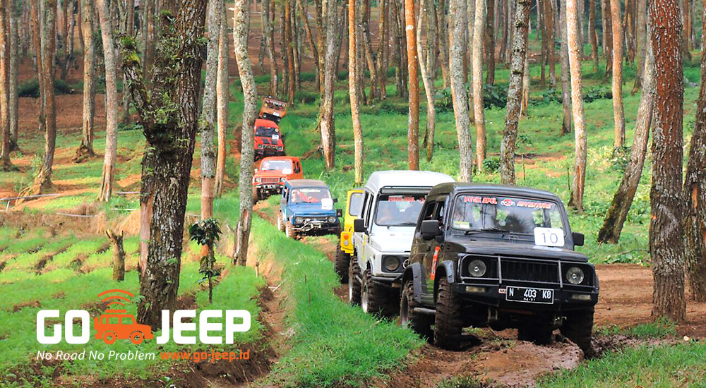 jeep offroad obyek wisata coban talun batu