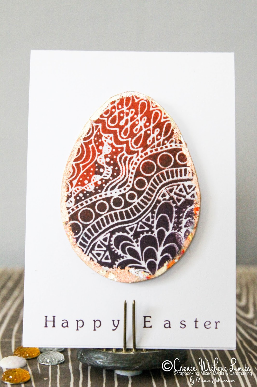 Create Without Limits Easy Easter Cards With A Sparkle Scrap Fx