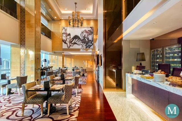 Executive Lounge Breakfast at Sofitel Guangzhou Sunrich