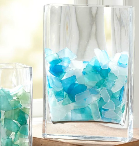 Sea Glass Vase Filler
