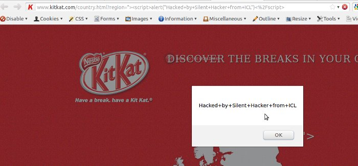 Vuln Pertamina Official Site: XSS Vulnerability Found In KitKat Official Website