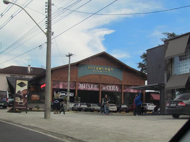 Museu de cera em Gramado/RS