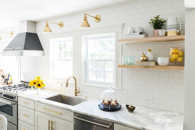 Kitchen Remodel Inspiration // The Style Nest Blog // Jennifer Cavorsi Design // Winsome Rose Journal