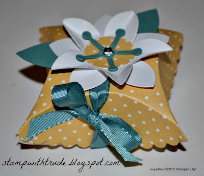 stampwithtrude.blogspot.com , Trude Thoman, Stampin' Up!, 3D project, gift box,