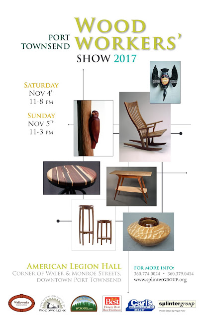 Port Townsend Woodworker's Show 2017