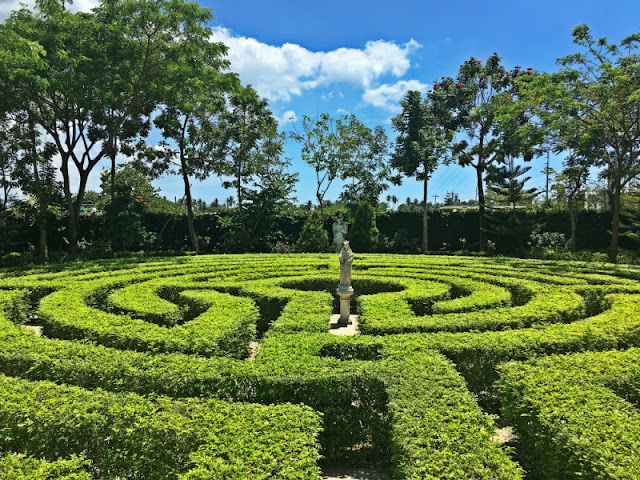The Labyrinth in Capilla Santa Ana Museum in Toledo City, Cebu