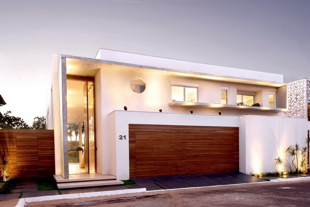 Casa capital architecture ney lima brasilia arquitexs for Fachadas de casas modernas en lima