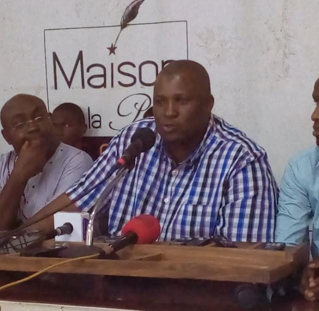 Cheick Touré secrétaire général de la délégation syndicale du port