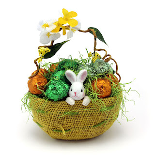 Easter gifts hampers dubai uae the m gift shop dubai gifts godiva easter bunny basket small negle Gallery