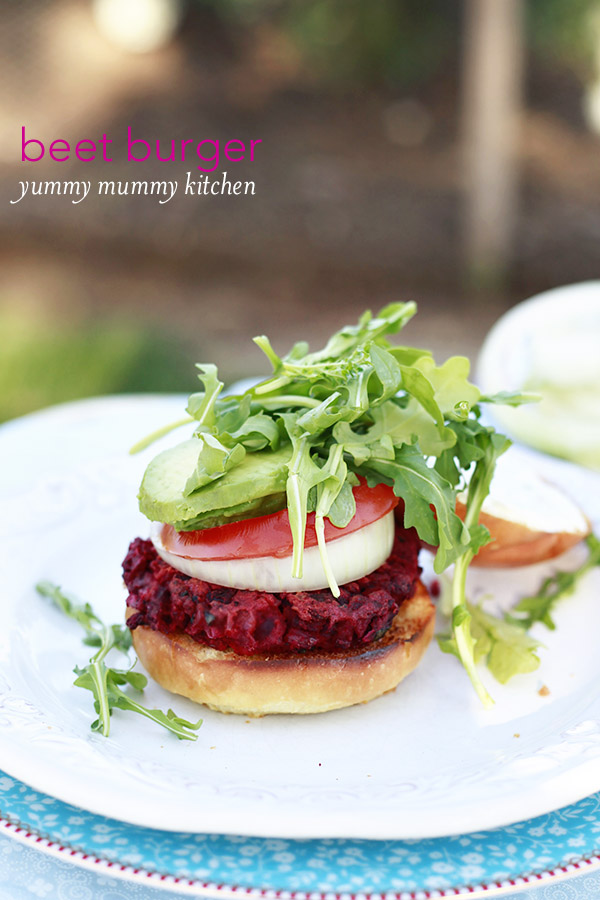 beet veggie burger recipe