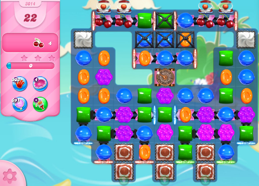 Candy Crush Saga level 3014