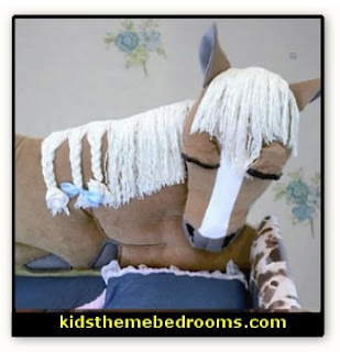 horse headboards Animal themed toddler Beds - themed beds - fun kids theme beds - toddler animal beds - kids themed beds - kids room furniture - animal themed headboards - Animal Shaped Beds for toddlers - girls beds - boys beds - kids rooms wall decorations - playroom beds - unique furniture -  fun furniture - toddler bedding - Pajamas