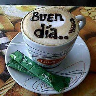 Taza de café Buen día