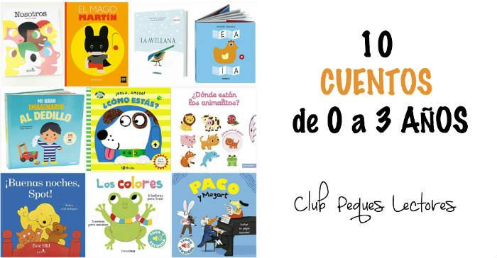 cuentos infantiles recomendados de 0 a 3 años edad