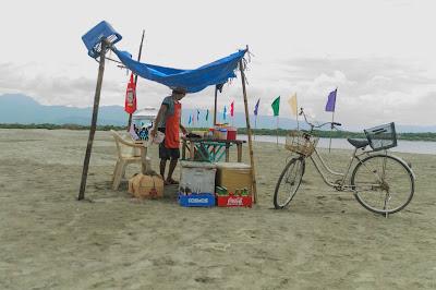 Halo Halo Vendor Puro Pinget Island Magsingal Ilocos Sur Philippines