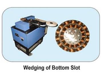 Insulation Wedge Inserting Machine - BOTTOM SLOT Image