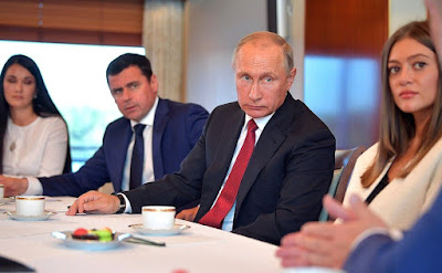President Putin at the meeting with members of the public of Yaroslavl Region.