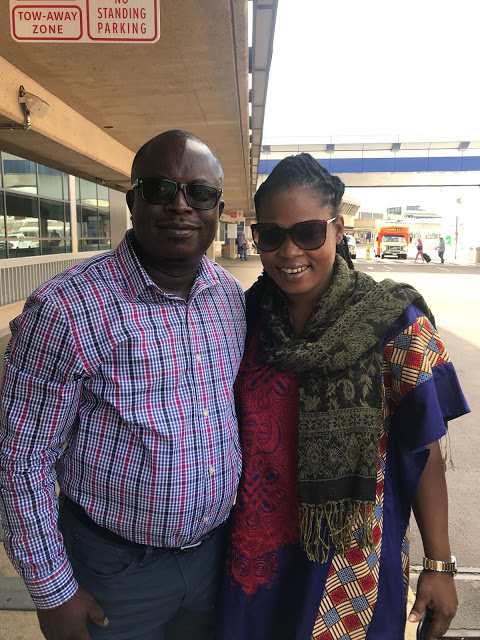 Photos:Joyce Blessing Arrives In USA Ahead Of 'I Swerve You' Tour