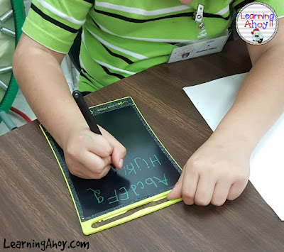 multisensory learning: boogie board
