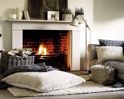 El alma de siloe un hogar en tu abrazo - Decorar chimeneas rusticas ...