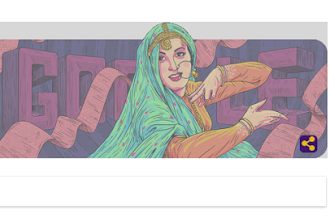 Google Doodle To Madhubala : गूगल ने डूडल के साथ मधुबाला का 86 वां जन्मदिन मनाया