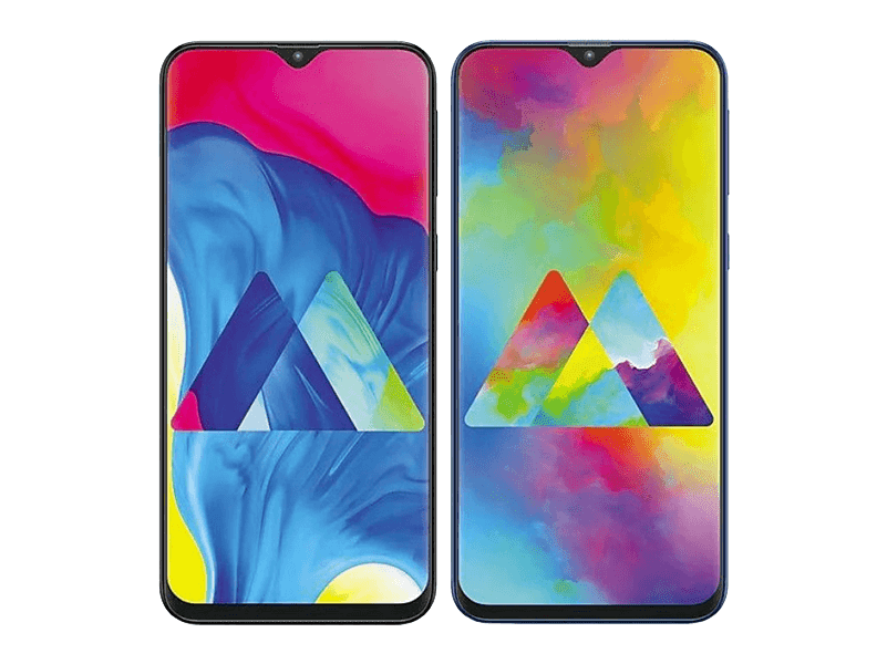 Samsung Galaxy M10 and M20 with Infinity-V screens (waterdrop notch) now official!