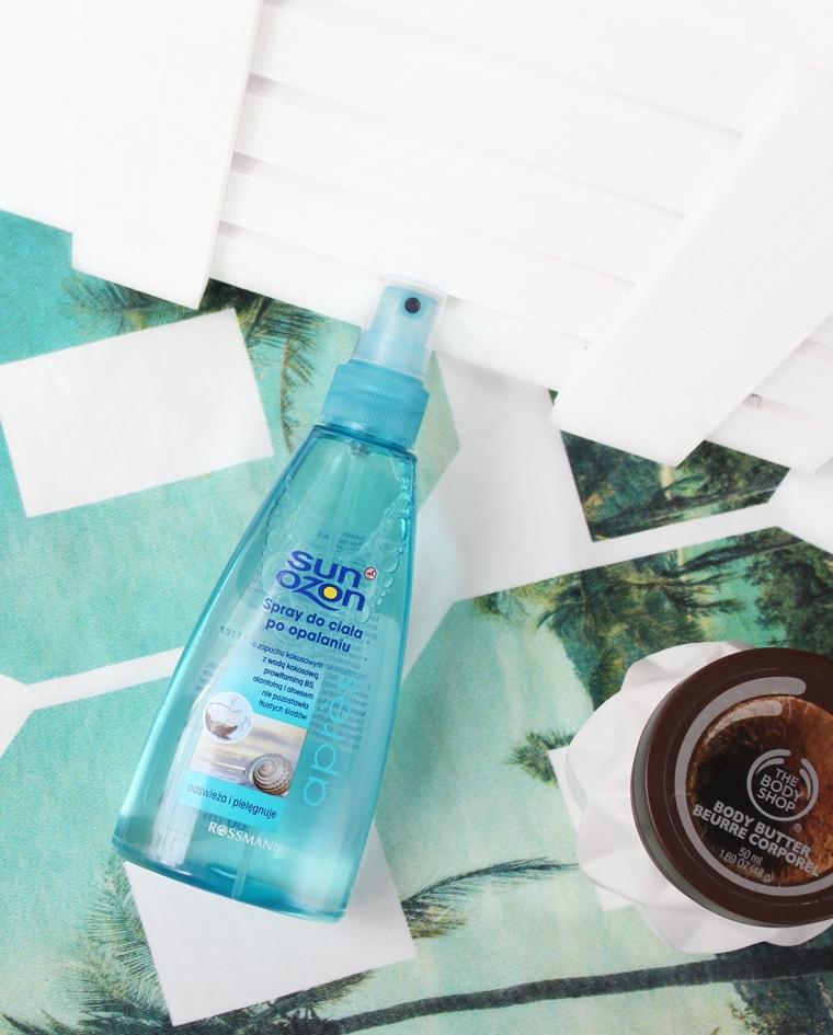 Kokosowe kosmetyki - SunOzon Spray do ciała po opalaniu o zapachu kokosowym