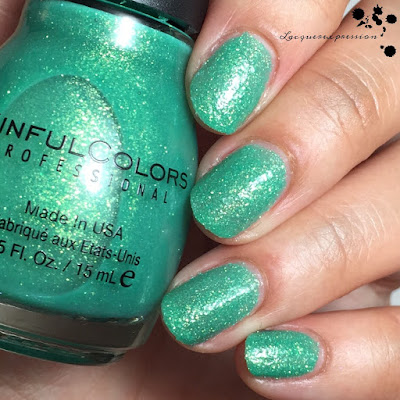 Sweeten the Teal  nail polish by Sinful Colors